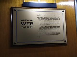 Il web è nato al CERN