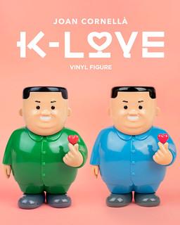 充滿黑色幽默的硬派示愛!AllRightsReserved x Joan Cornellà「K-LOVE」搪膠人偶 DING DONG 宅配便情⼈節限定開賣!