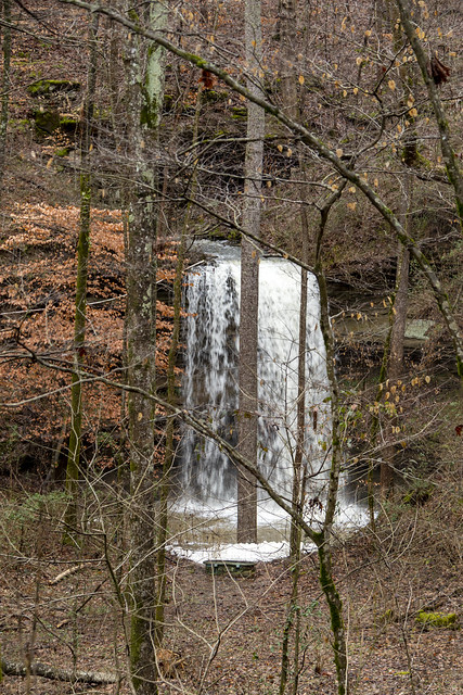 Disappearing Waterfall Cave entrance, White County, Tennessee