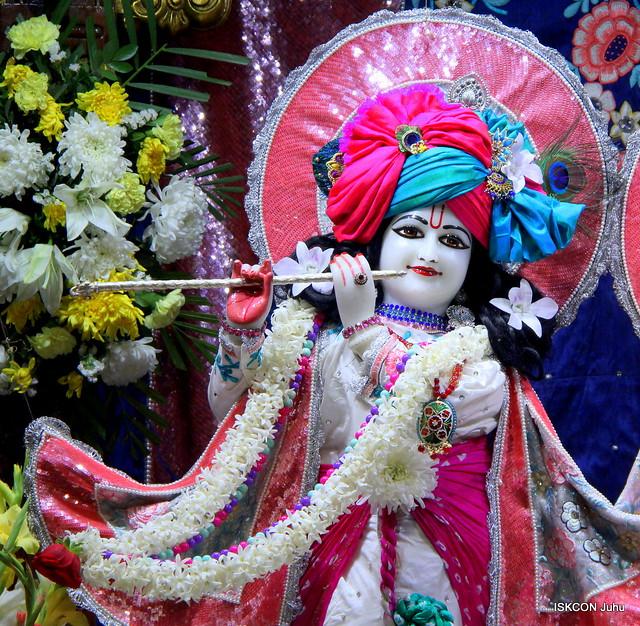 ISKCON Juhu Mangal Deity Darshan on 7th Feb 2020
