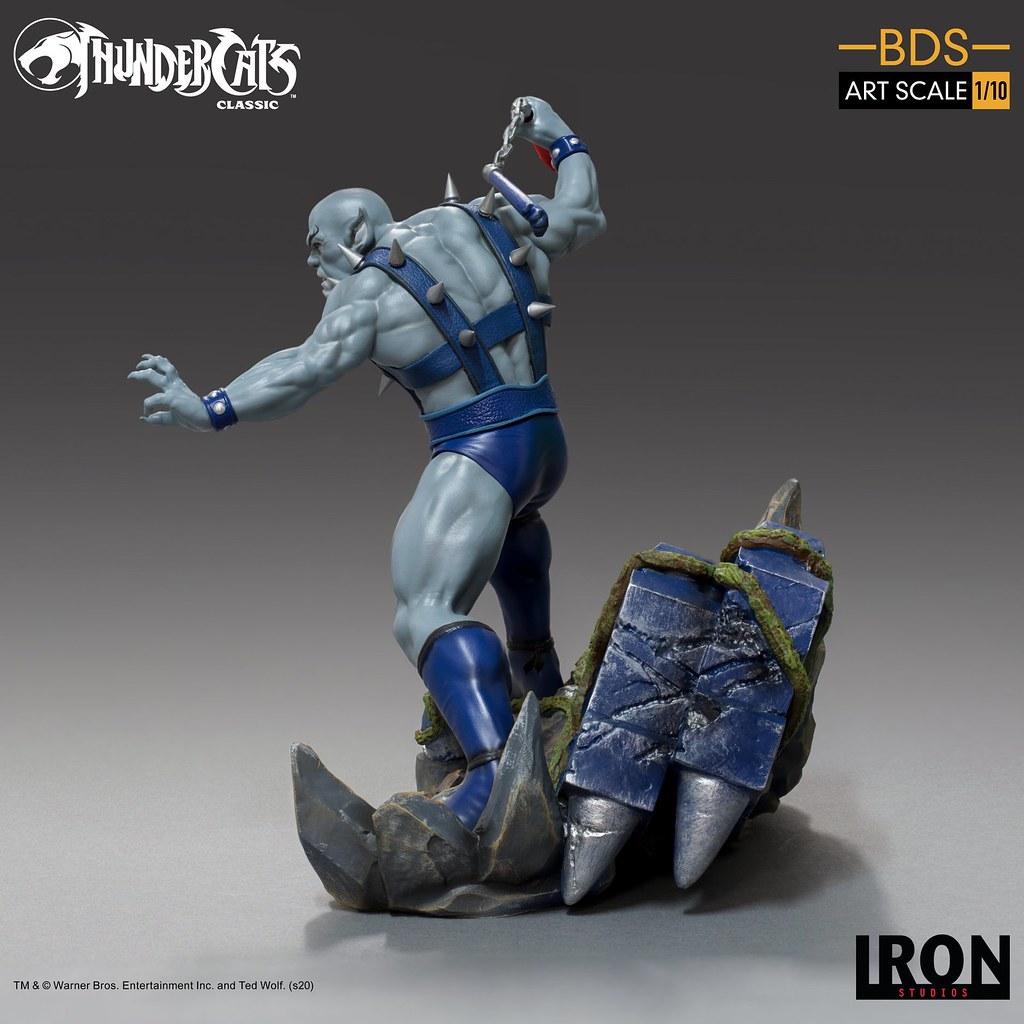 最兇猛的猛貓! Iron Studios Battle Diorama 系列《霹靂貓》猛貓 Panthro 1/10 比例全身雕像