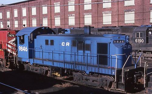 Conrail ALCo T-6 9846