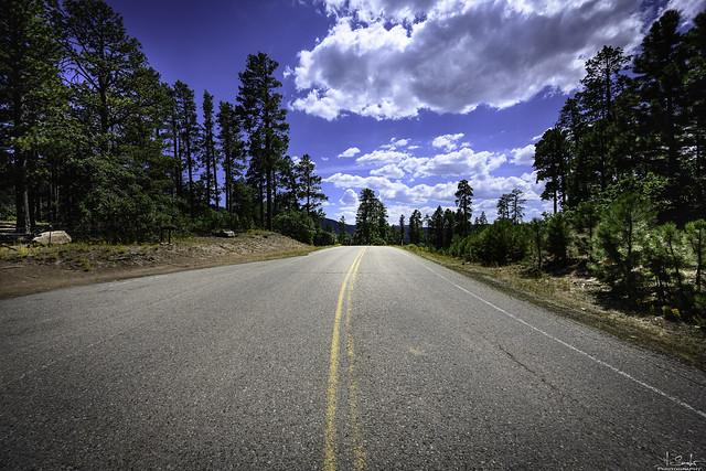 Road over the Buffalo Pass - Arizona - USA