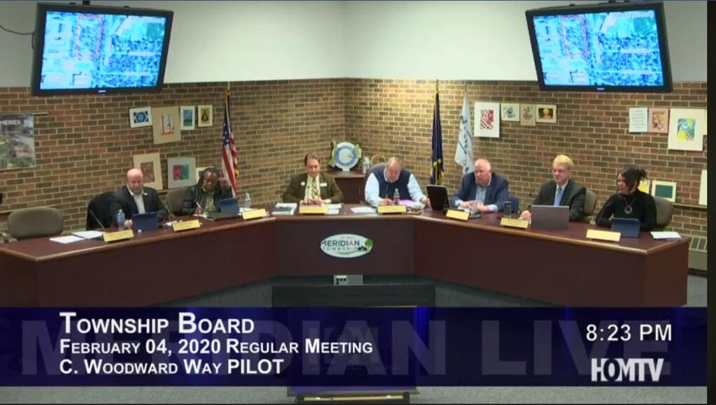 Board Members Address Proposed Woodward Way PILOT