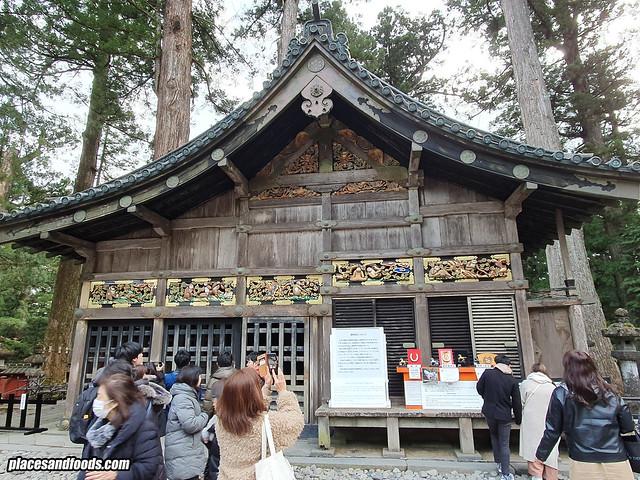 nikko toshogu shrine three wise monkeys