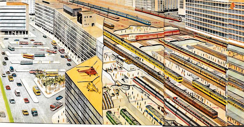 西武新宿線が国鉄新宿ステーションビルに乗り入れ (3)