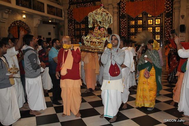 Sobha Yatra of Sri Gaura Nitai 7th Feb 2020 ISKCON Juhu