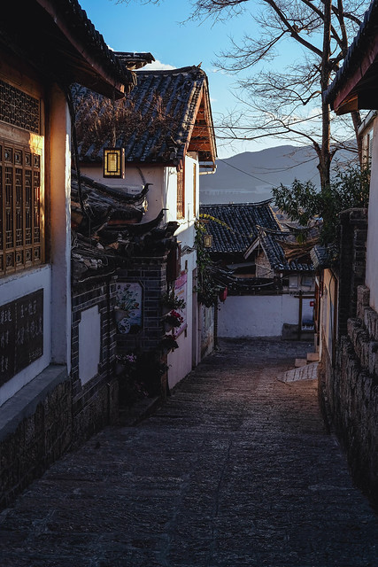 Sunset, Lijiang Old Town