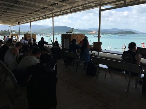 コサムイ 桟橋