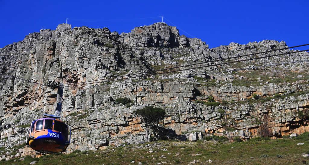 Bezienswaardigheden Kaapstad: Tafelberg | Mooistestedentrips.nl
