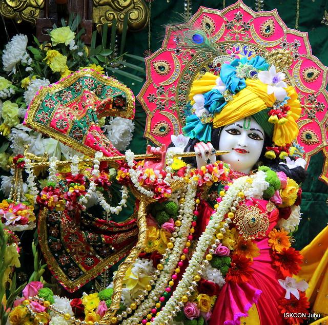 ISKCON Juhu Sringar Deity Darshan on 7th Feb 2020