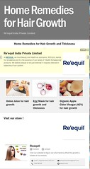 Home Remedies for Hair Growth - Reequil