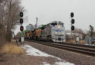 Veteran engine with veteran signals