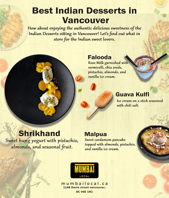 Best Indian Desserts in Vancouver
