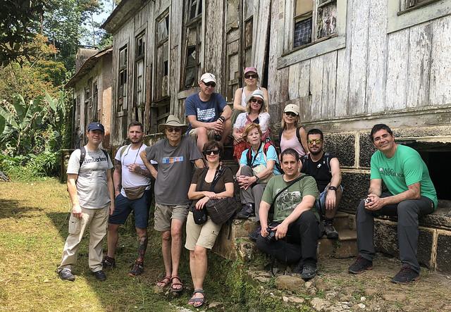 Grupo de Santo Tomé y Príncipe en Roça Sao Nicolau