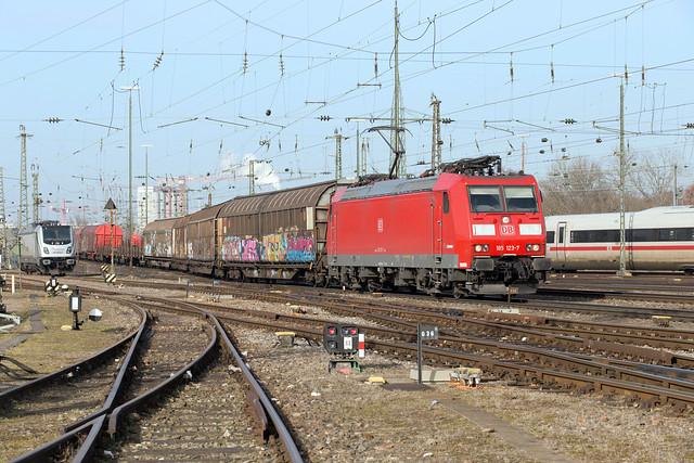 DB 185 123 Basel Badischer Bahnhof