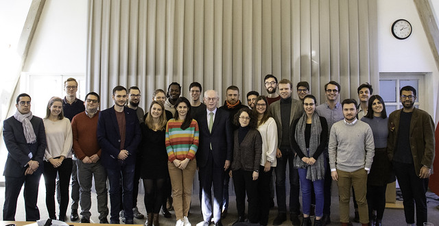 High-level visit by H.E. Ct Herman VAN ROMPUY at the College of Europe in Natolin