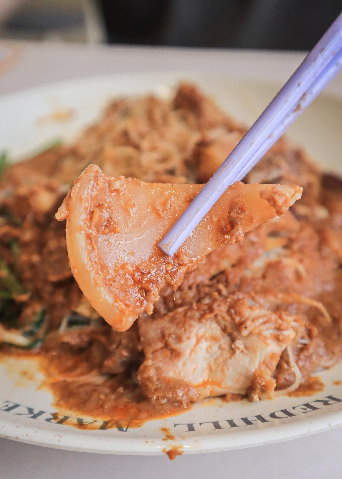 Bak Kee Teochew Satay Bee Hoon cuttlefish 2