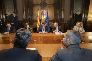 Reunió dels òrgans de Govern de PIMEC amb el president del Govern Espanyol, Pedro Sánchez, i Teresa Cunillera, delegada del Govern a Catalunya.