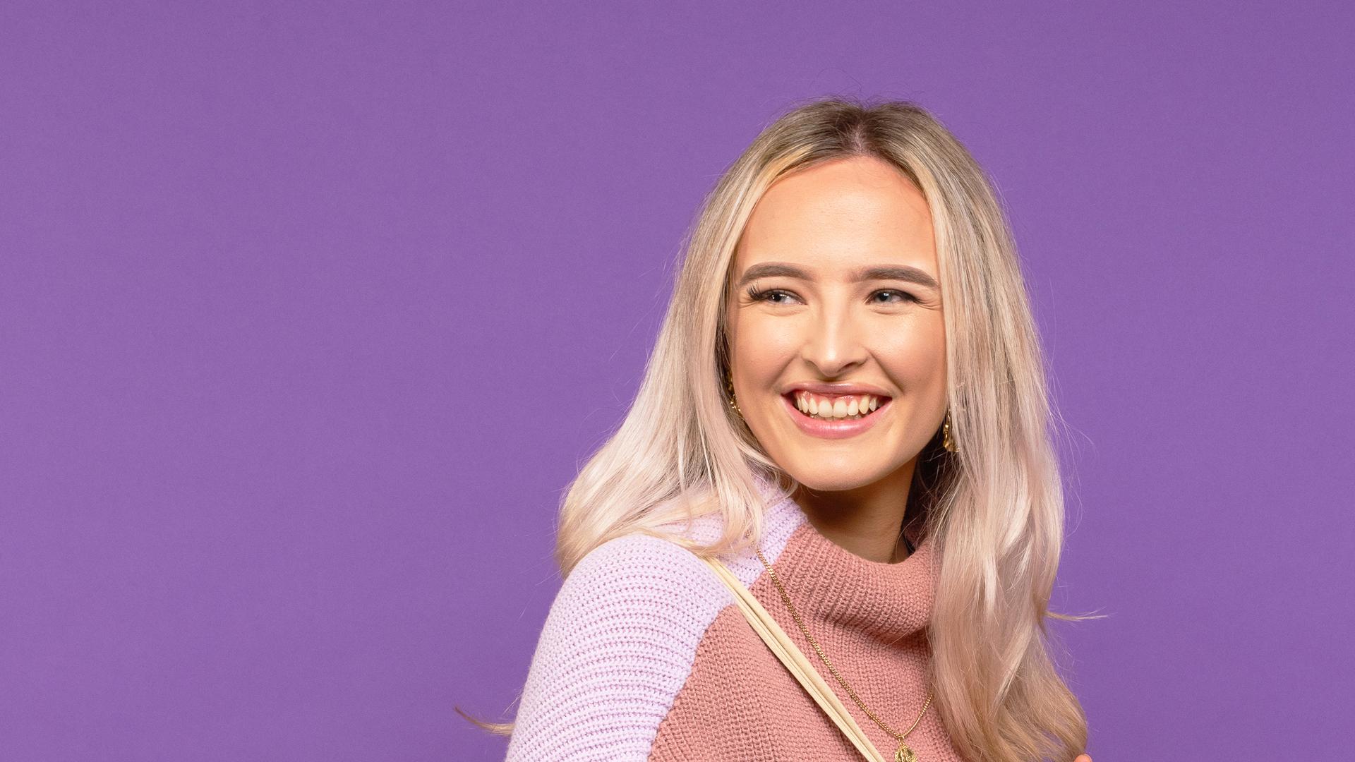 Mackyla Palmer-Logue profile image.