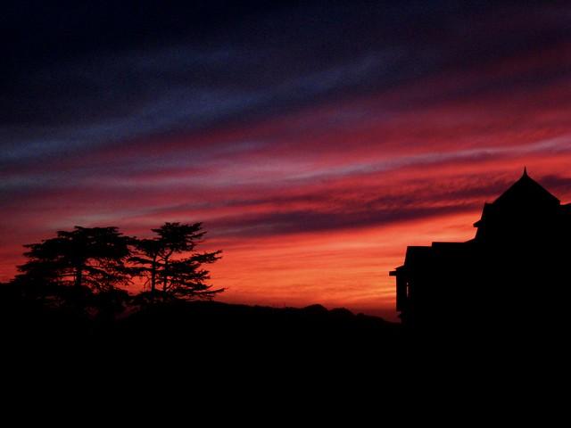 Sunset in Shimla