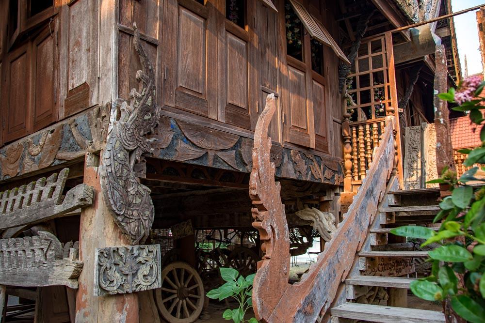 Пхрэ северный Таиланд что посмотреть