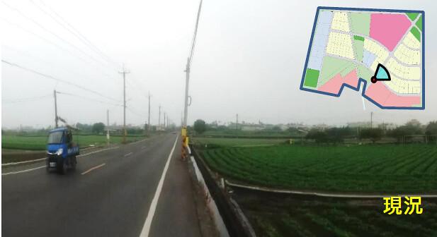 開發基地現況有10公頃為農業耕地。擷取自環評書件
