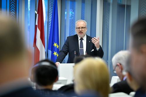 """07.02.2020. Valsts prezidents Egils Levits piedalās diskusijā """"Valsts padomes loma likumdošanā"""""""