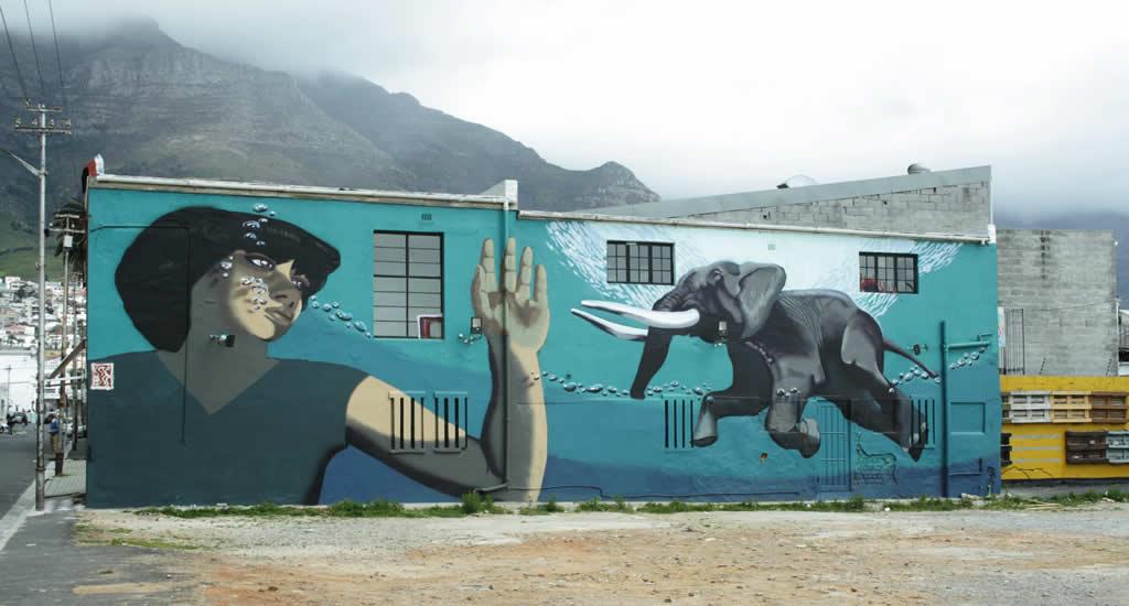 Street art Kaapstad | Mooistestedentrips.nl