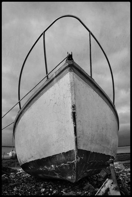Boat, Springvale beach....