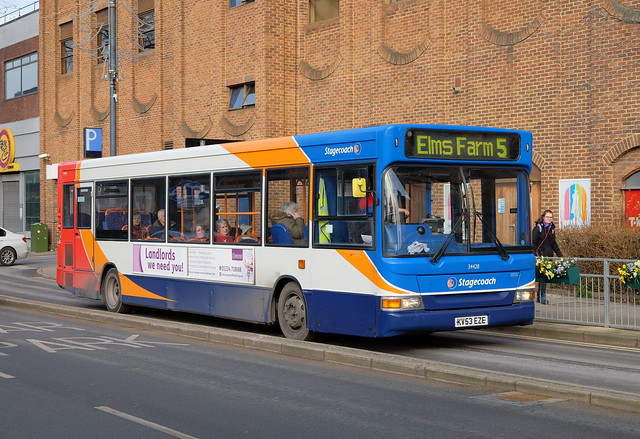 Stagecoach Cambus Transbus Pointer Dart SLF 34428 KV53EZE in Bedford