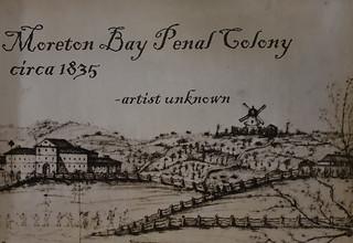 Moreton Bay Penal Colony -1835