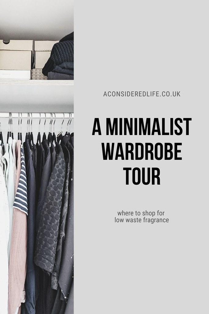 A Minimalist Wardrobe Tour