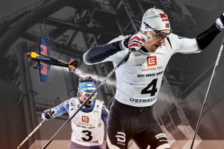Na start ČEZ City Cross Sprint se postaví i bratr slavného norského sprintera