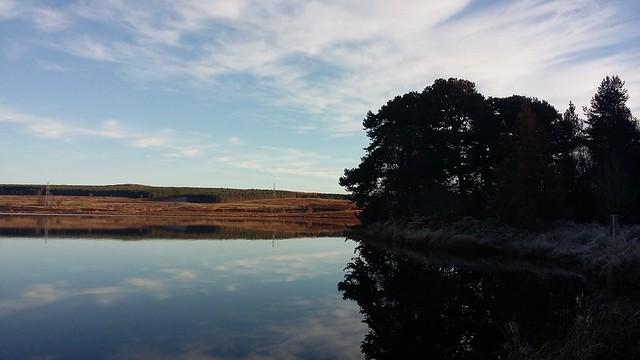 Loch Ashie, near Dores, Nov 2019