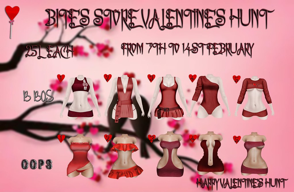 ::OOPS:: and B BOS Valentine's Hunt