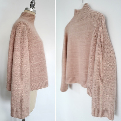 Espace Tricot has done it again with this simple and lovely design - a free Ravelry download pattern!