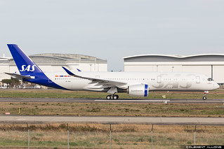 SAS Scandinavian Airlines Airbus A350-941 cn 378 SE-RSB