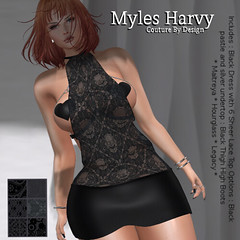 {MH} Couture -  Ebony Outfit