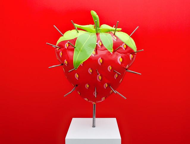 That's a weird strawberry
