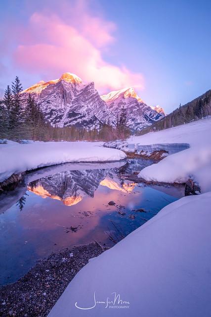 Sunrise in Banff