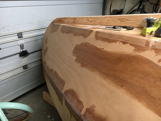 Planking hull