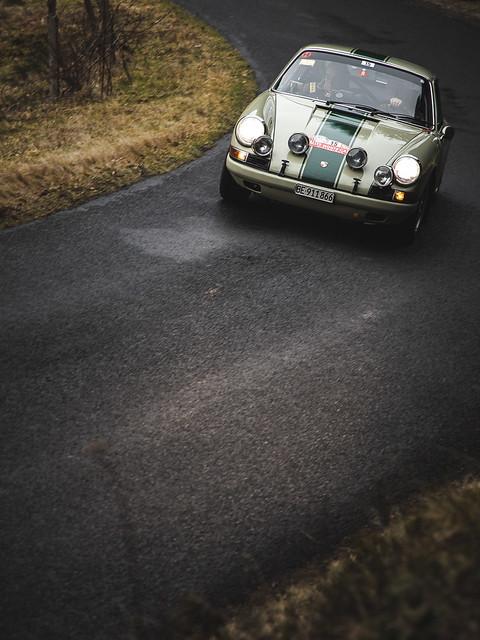 Porsche 911 n°15 - Rallye Monte-Carlo historique 2020