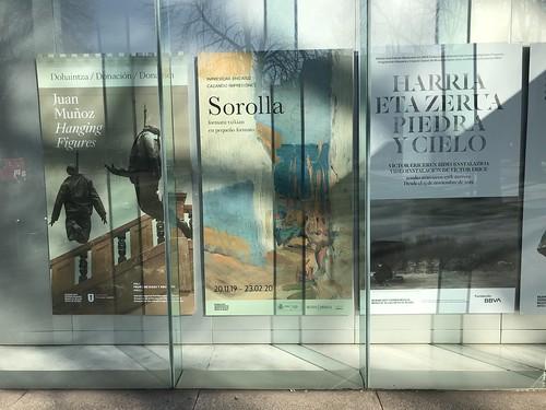 Sorolla en pequeño formato en el Museo Bellas Artes de Bilbao