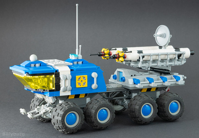 Lego 6950 Mobile Rocket Launcher