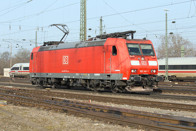 DB 185 140 Basel Badischer Bahnhof