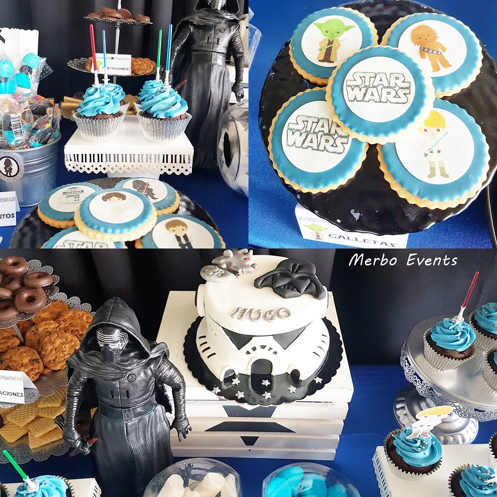 tarta comunion star wars by merbo events