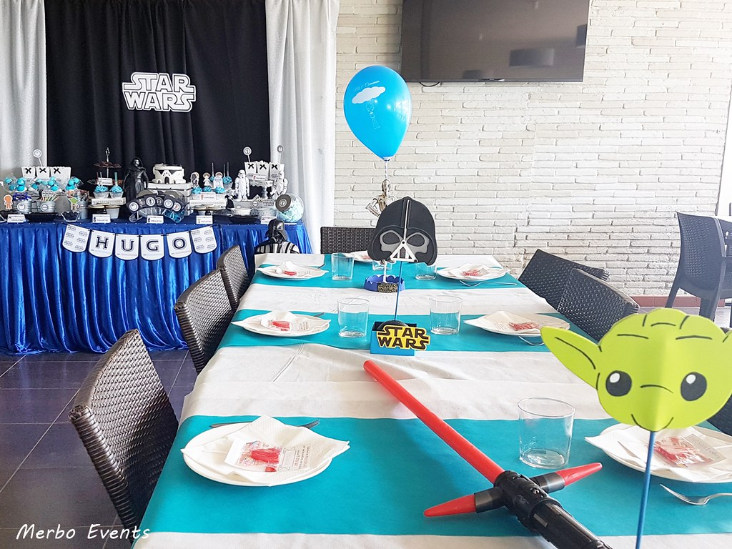 decoracion omunion star wars by merbo events