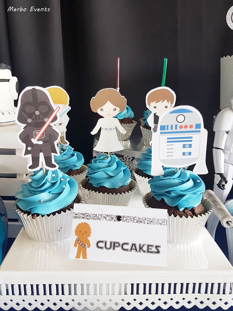 cupcakes star wars by merbo events