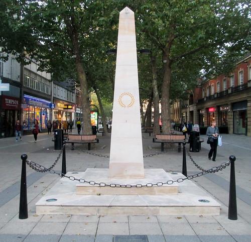 A War Memorial, Peterborough